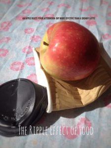 apple over energy drink